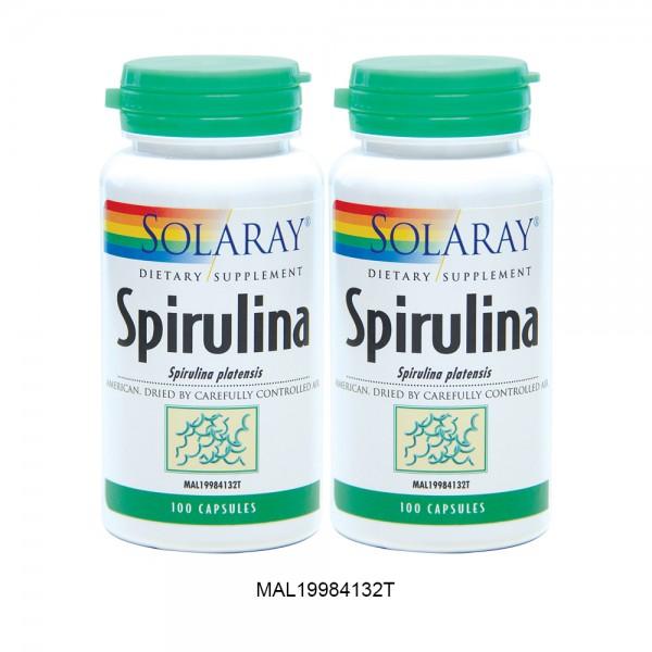 SOLARAY SPIRULINA TWINPACK 2ND 50% OFF (MAL19984132T)